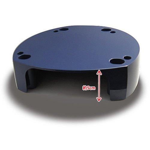 シャイニージェル スパイラルUVランプ&LEDランプ 12W専用 ランプスタンド
