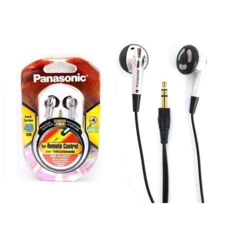 Panasonic Rp-Hj337/In-Ear Earbud/Stereo/0.4M /Short Line/Xbs