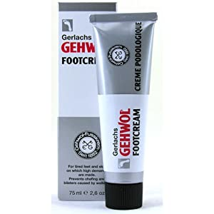 Gehwol Foot Cream - 75ml - Prevents Sores, Blisters & Chaffing