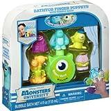 Disney Pixar Monsters University Bubble Bath & Finger Puppets Set