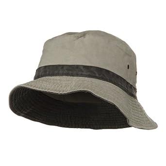 Big Size Reversible Bucket Hats - Putty Black at Amazon ...