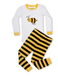 Leveret Bumble Pajama Cotton Months