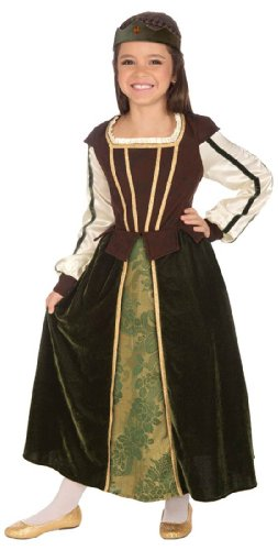 Maid Marion Girls Costume
