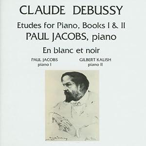 Etudes for piano books i ii en blanc et noir by debussy c 1992 - Bar piano blanc et noir ...