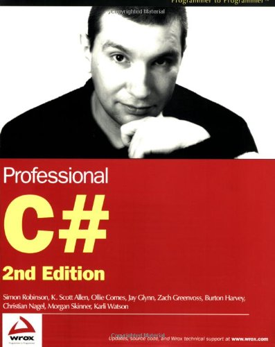 Professional C# (Programmer to Programmer)