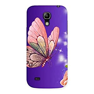Pinkish Butterfly Back Case Cover for Galaxy S4 Mini