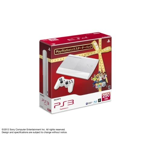 PlayStation 3 250GB スターターパック クラシック・ホワイト みんなのゴルフ6同梱 (CEJH-10023)