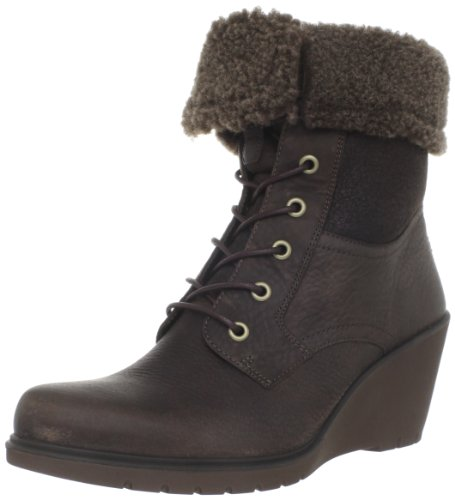 Ecco ECCO ADORA Ankle Boots Womens Brown Braun (Coffee/Licorice-Dark Clay/ Leder 57508) Size: 7 (41 EU)