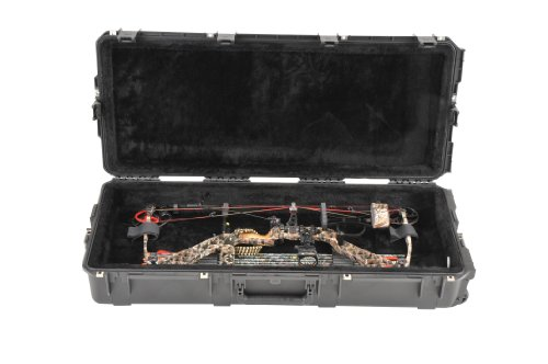 SKB Injection-Molded Parallel Limb Bow Case, Black