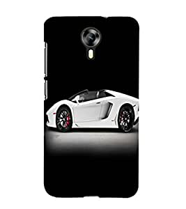 printtech Superfast Car Back Case Cover for Micromax Canvas Xpress 2 E313