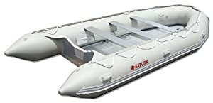 Saturn 15 ft Heavy-Duty Inflatable Motor Boat by Saturn