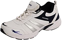 Fortuner Mens White Synthetic Sports And Outdoor Shoes - 6 UK
