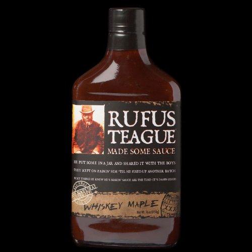 Rufus Teague Whiskey Maple BBQ Sauce (12 X 16 Oz.)
