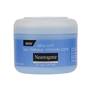 Neutrogena Eye Makeup Remover Pads, 30 Count