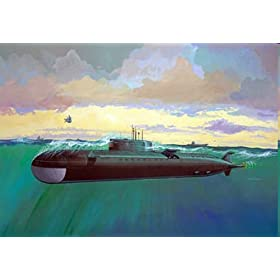 Revell AG Germany, Russian Oscar-II Class Submarine K-141 Kursk