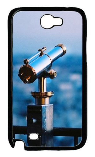 Astronomical Telescope Polycarbonate Hard Case Cover For Samsung Galaxy Note 2/ Note Ii/ N7100 Black