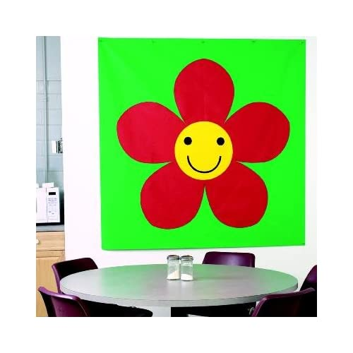 Sunflower soft play mural wall preschool for Classroom wall mural ideas