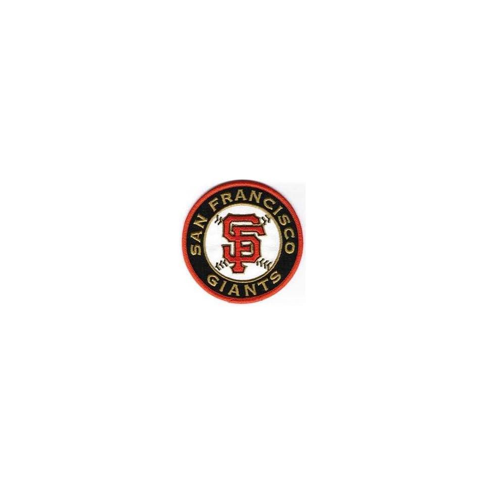 San Francisco Giants SF Round MLB Baseball Team Logo Jersey Sleeve Patch