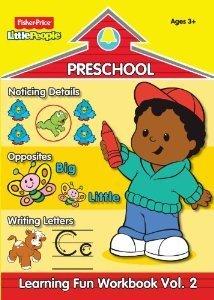 Fisher-Price Little People Preschool Workbook Volume 2 - 1