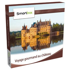 Coffret cadeau Smartbox - Voyage gourmand au château