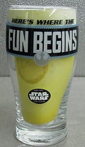 Hallmark Star Wars SHP2020 Where the Fun Beer Pint Glass