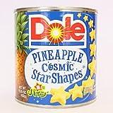 DOLE(ドール) 星型パインアップル シラップ漬け 1H缶