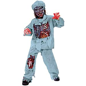 Official Costumes Zombie Doctor Costume Medium