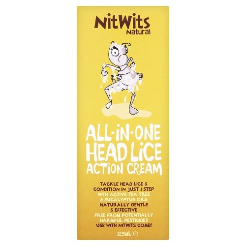 NitWits Natural All-in-One Head Lice treatment Action Cream
