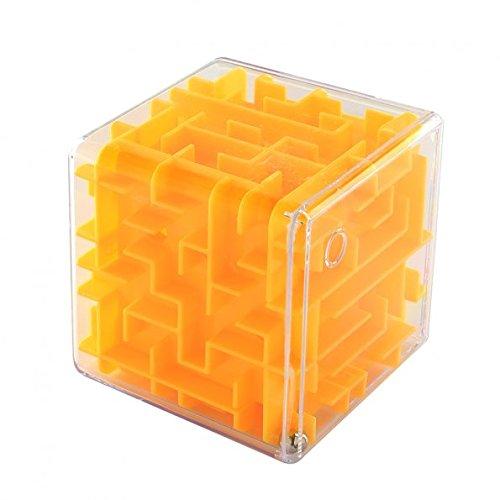 SainSmart Jr. Amaze Cube Maze (Yellow)