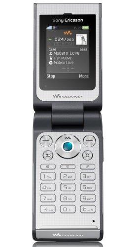 Sony Ericsson W380i Handy (Triband, EDGE, MP3-Player, Bluetooth, MemoryStickMicro-Slot) Magnetic Grey