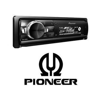 Pioneer Deh-80Prs - Cd Receiver With Bluetooth/Pandora Plays Cds, Cd-Rs, And Cd-Rws, Including Discs Loaded With Mp3, Wma, And Aac Files Built-In Bluetooth For Hands-Free Calling And Audio Streaming /Detachable Fold-Face With 3-Line Oel Display, Plus Cust