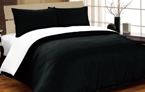 complete-double-reversible-black-white-duvet-cover-and-fitted-sheet-bed-set-by-viceroy-bedding