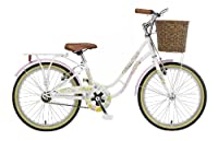 "Viking Crystal, Single Speed, 20"" Wheel Bike, White from Viking"