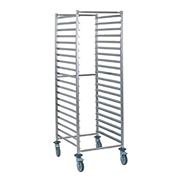 Tournus GN2/1 racking trolley 20 levels Dimensions 775(l)x660(w)x1785(h)mm Weight 24kg