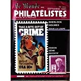 MONDE DES PHILATELISTES (LE) [No 389] du 01/09/1985 - SHERLOCK HOLMES - EDISON - MCGRUFF THE CRIME DOG.