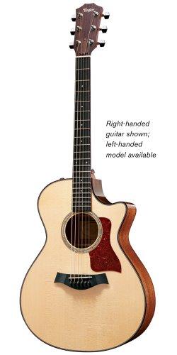 Taylor Guitars 512Ce-L Grand Concert Acoustic Electric Guitar, Left Handed