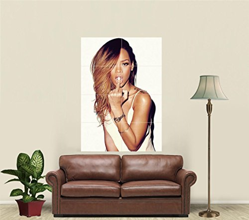 Rihanna Giant Art Print Poster JA835