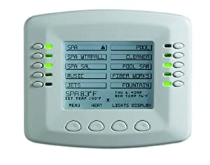 Pentair 520138 IntelliTouch Standard Indoor Pool and Spa Control Panel, Almond (Discontinued by Manufacturer)