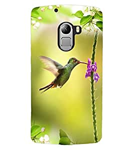 ColourCraft Beautiful Bird Design Back Case Cover for LENOVO A7010