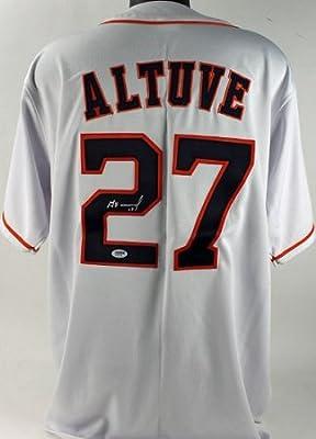 Jose Altuve Autographed Houston Astros Jersey