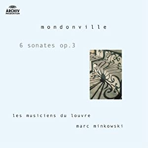 Mondonville - Sonates en symphonie op.3