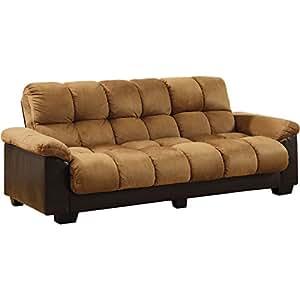 pearington futon sofa brantford tan espresso futon