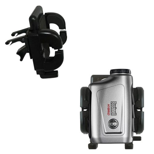 Bushnell Hybrid Laser Gps Compatible Vent Vehicle Mount Cradle - Unique Auto Car Holder Clips Into Air Vents. Lifetime Warranty