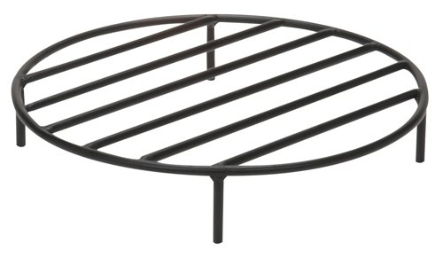 Buy Sunnydaze Round Steel Outdoor Fire Pit Wood Grate, 30 Inch Diameter