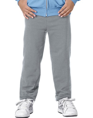 Hanes Youth Comfortblend Ecosmart Fleece Pant (Light Steel) (XS)