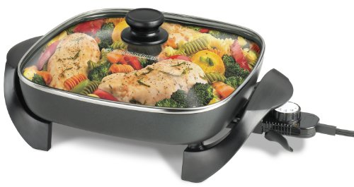 Check Out This Black & Decker 12-Inch Electric Skillet