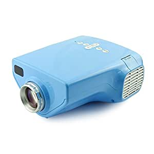 Fastfox mini led projector 320x240 lcd 50 for Hd projector amazon