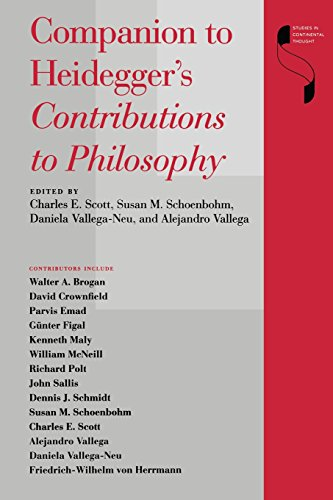 Companion to Heidegger's Contributions to Philosophy (Studies in Continental Thought)