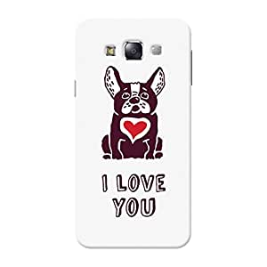 Garmor Designer Silicone Back Cover For Samsung Galaxy E7 SM E700