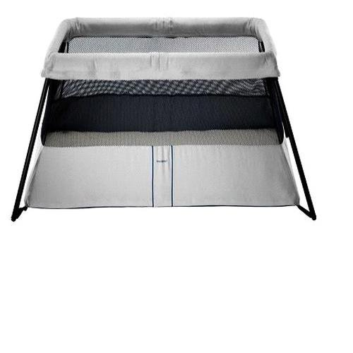 BabyBjorn SILVER Travel Crib Play Light Pen Quick Fold